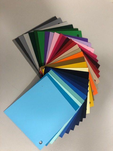 Vinyl Colour Swatch